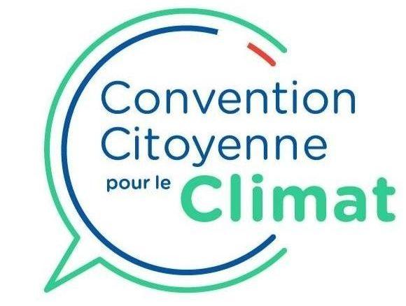 Logo de la Conevntion citoyenne pour le climat.