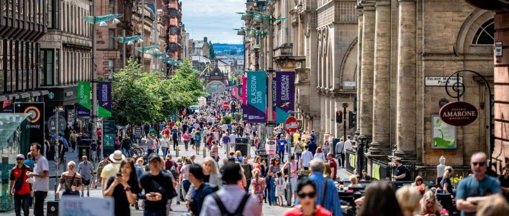 Buchanan Galleries, Glasgow, Royaum Uni.