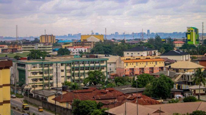 Un quartier de Lagos, au Nigeria.