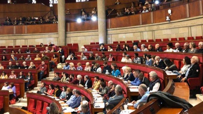 Les 150 citoyens de la Convention Citoyenne pour le climat font le point sur leur expérience, leur vécu lors de l'intercession en octobre 2019.