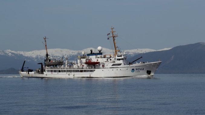 Un navire de la marine américaine.